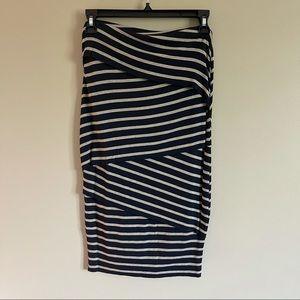 Bailey 44 Diagonally Tiered Skirt Size XS